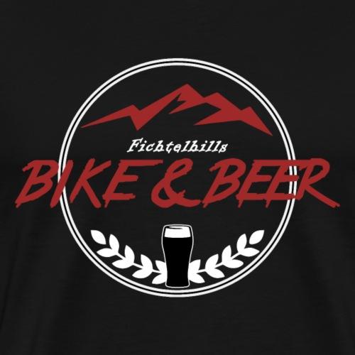Bike & Beer red-line - Männer Premium T-Shirt