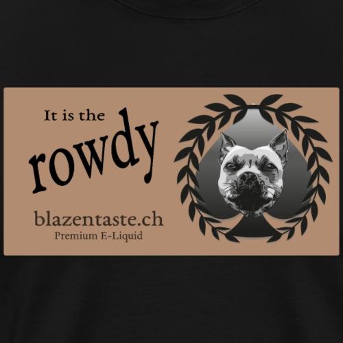 cloths rowdy - Männer Premium T-Shirt