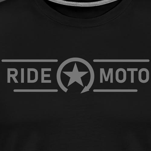 ride moto kill switch logo - Men's Premium T-Shirt