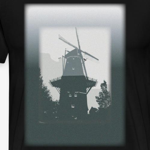 Mills grey - Maglietta Premium da uomo