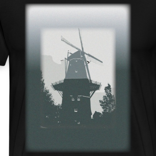 Mills grey - Herre premium T-shirt