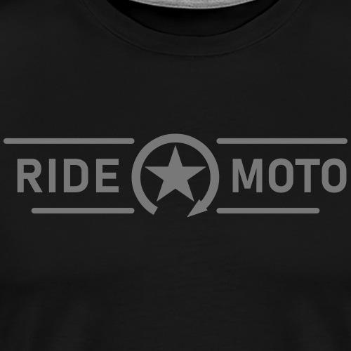 ride moto killschalter Logo - Männer Premium T-Shirt