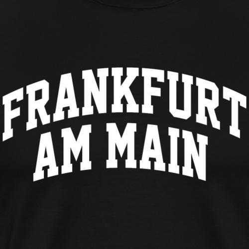 Frankfurt am Main Hessen Ebbelwoi Ultras 069 ffm - Männer Premium T-Shirt