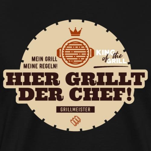 GRILLMEISTER HIER GRILLT DER CHEF v58B