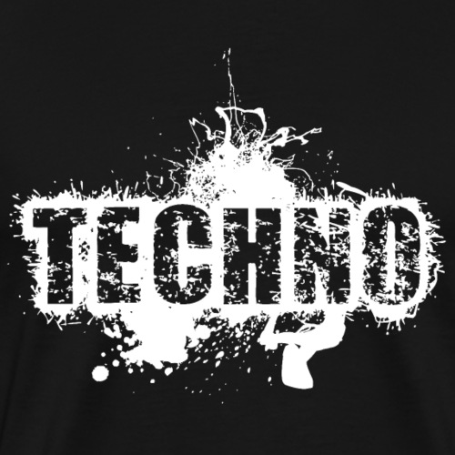 #techno - Männer Premium T-Shirt