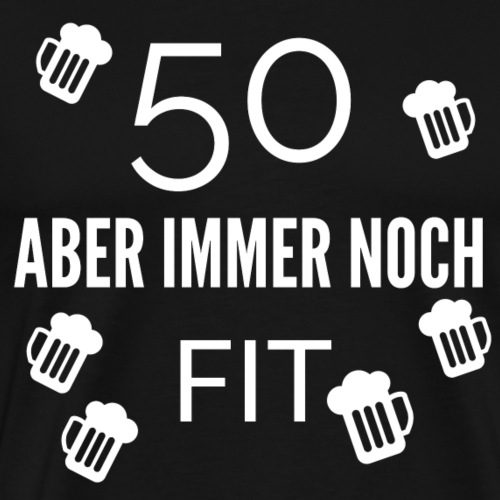 Geburtstag lustiger spruch - Männer Premium T-Shirt
