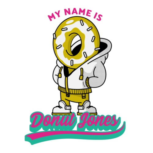 My name ist Donut Jones - Männer Premium T-Shirt