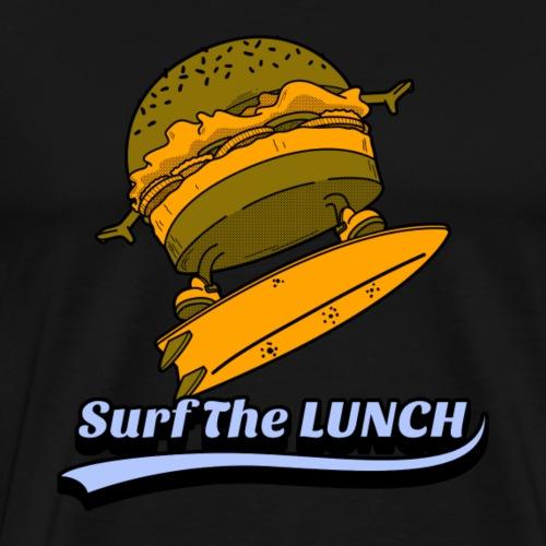 Surf the lunch - Männer Premium T-Shirt