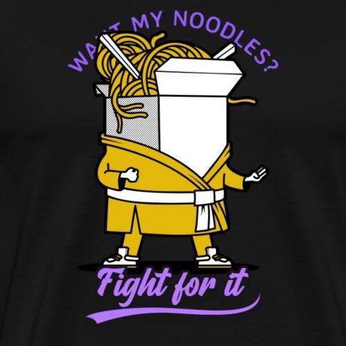 want my noodles? - Männer Premium T-Shirt