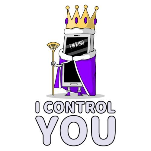 Handy I control you - Männer Premium T-Shirt