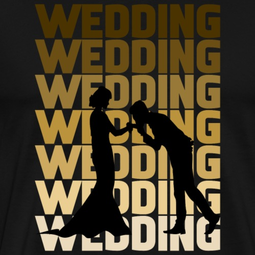 Wedding - Männer Premium T-Shirt