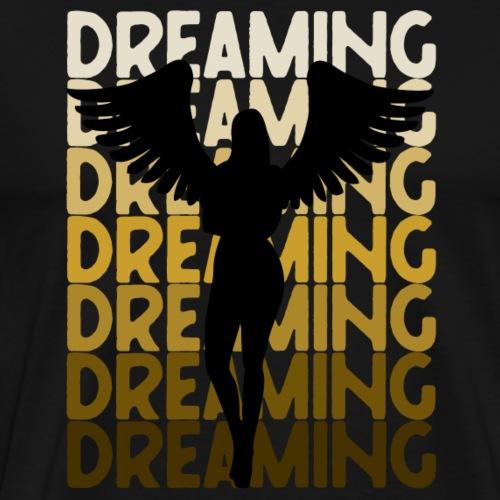 Dreaming Angel - Männer Premium T-Shirt
