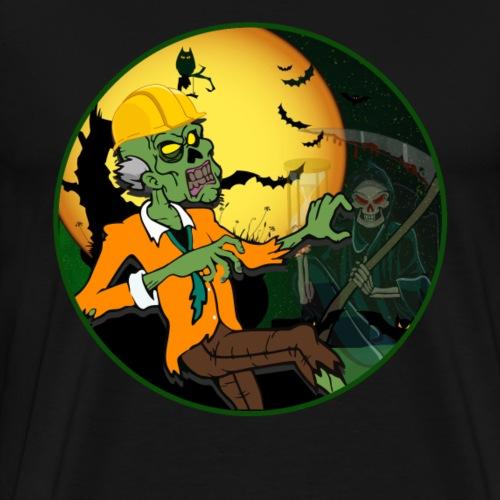 Halloween Logo - Männer Premium T-Shirt
