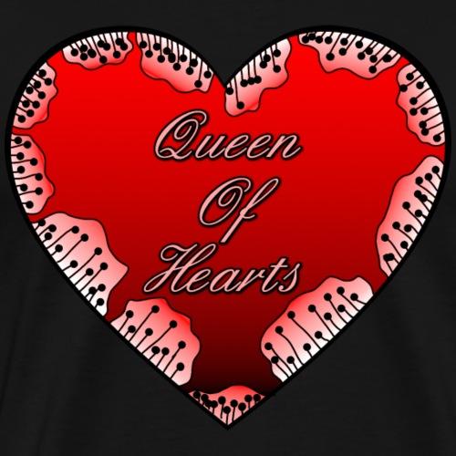 Herz Queen of Hearts - Männer Premium T-Shirt