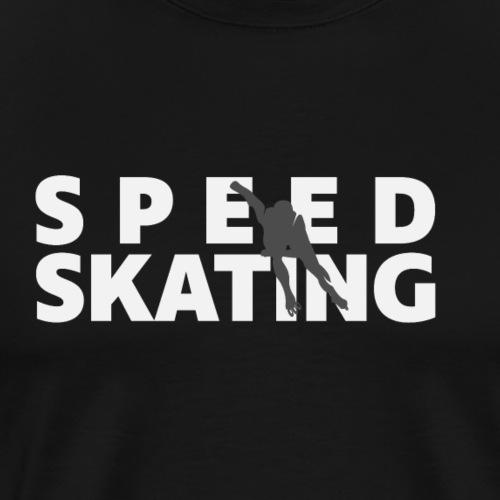 Speedskating Skater - Männer Premium T-Shirt