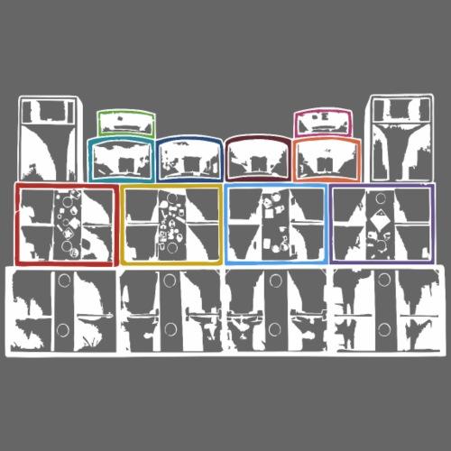 TEKNO SQUAT RESEAU SOUND SYSTEM - T-shirt Premium Homme