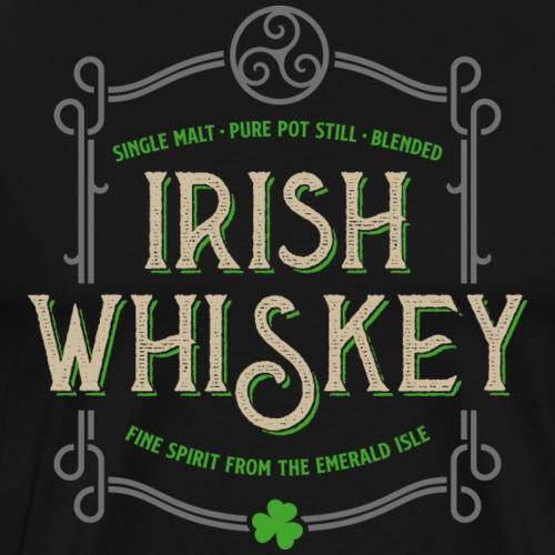Irish Whiskey 03 - Männer Premium T-Shirt