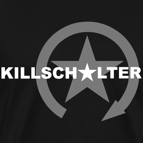 KILLSCHALTER brand logo - Men's Premium T-Shirt