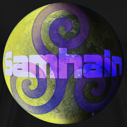 Samhain: the light side and the dark side - Men's Premium T-Shirt