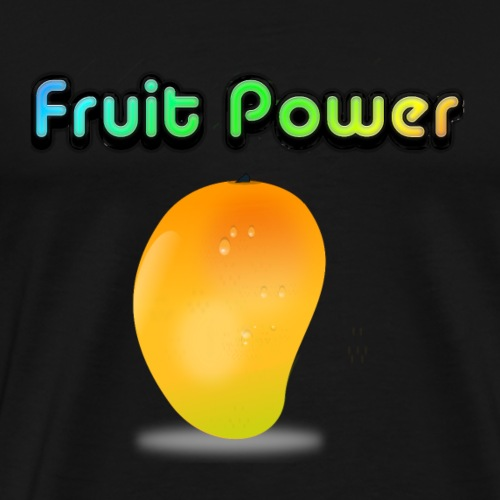 Fruit Power Mango - Männer Premium T-Shirt