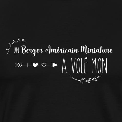 Un berger américain miniature a volé mon coeur - T-shirt Premium Homme
