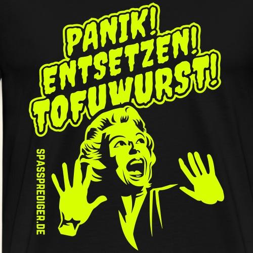 Grill T Shirt Tofuwurst - Männer Premium T-Shirt