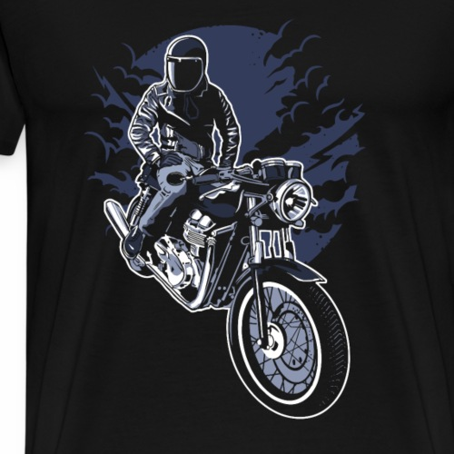 Night Rider - Männer Premium T-Shirt