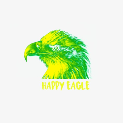 happy eagle - T-shirt Premium Homme
