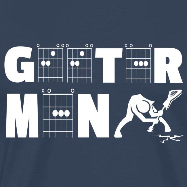 Geetar / Guitar Man in guitar chords