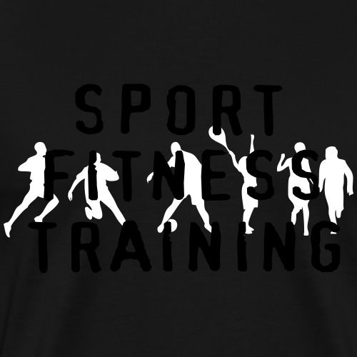 sport_fitness_training - T-shirt Premium Homme