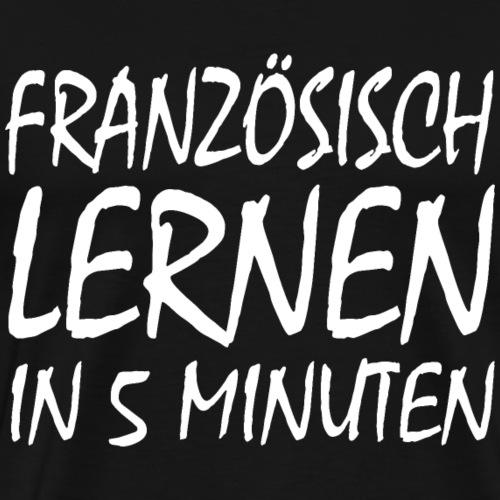 Anmachspruch - Men's Premium T-Shirt