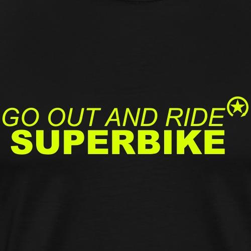 wyjdź i jedź superbike 7GO03 - Koszulka męska Premium