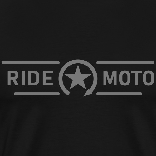 ride moto kill switch Logo 9RD01 - Men's Premium T-Shirt