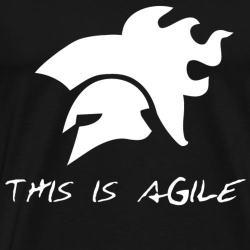 agiLE Leipzig | this is agile - Männer Premium T-Shirt