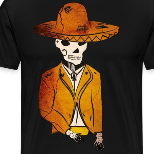 Mariachi kuollut - Miesten premium t-paita