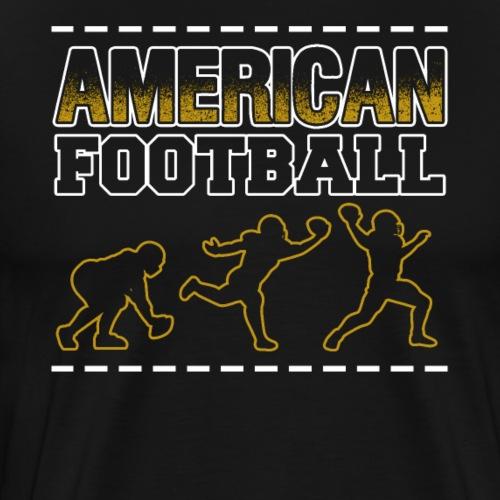 American Football Players - Männer Premium T-Shirt