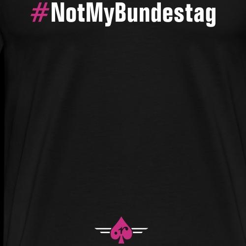 NotMyBundestag - Männer Premium T-Shirt