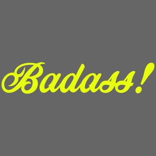Badass! - Premium-T-shirt herr