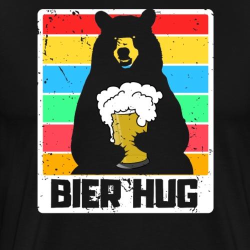 Bier Umarmung - Männer Premium T-Shirt