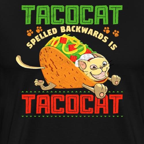 Tacocat rückwärts geschrieben ist TacocaT - Männer Premium T-Shirt