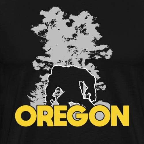 Bigfoot Oregon Sasquatch - Männer Premium T-Shirt