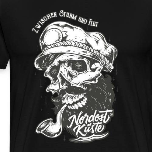 Seemann Totenkopf - Männer Premium T-Shirt