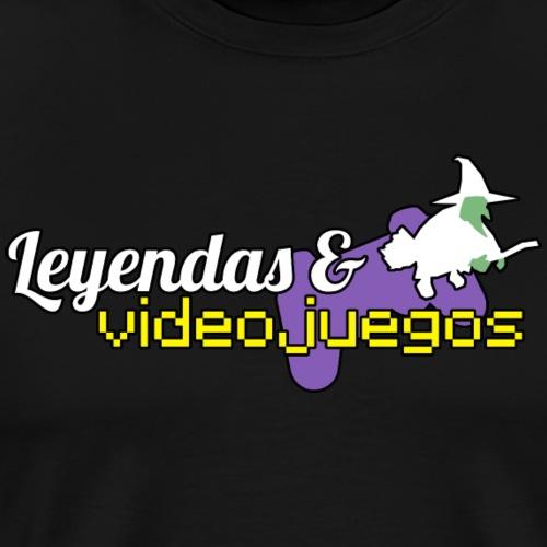 Logotipo Leyendas & Videojuegos - Camiseta premium hombre