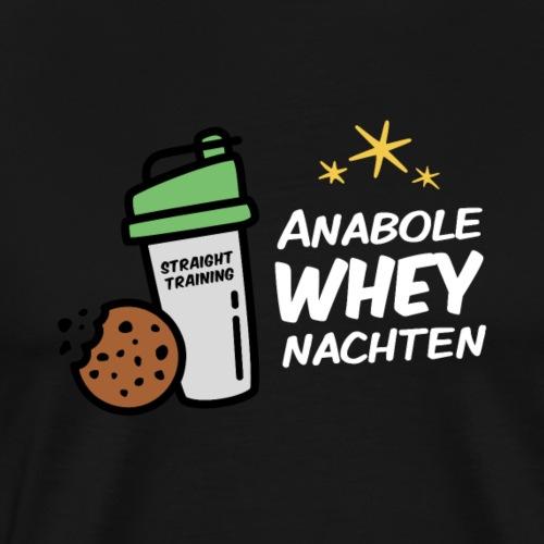 Anabole Wheynachten - Männer Premium T-Shirt