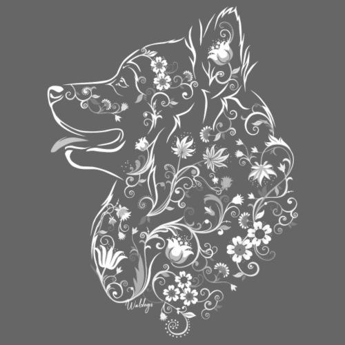 Kukkaislappari Vaalea - Miesten premium t-paita