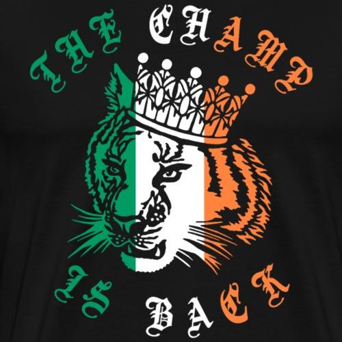 Conor - The champ is back - Camiseta premium hombre