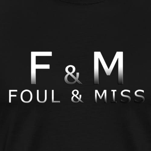 fmshirt snooker - Männer Premium T-Shirt