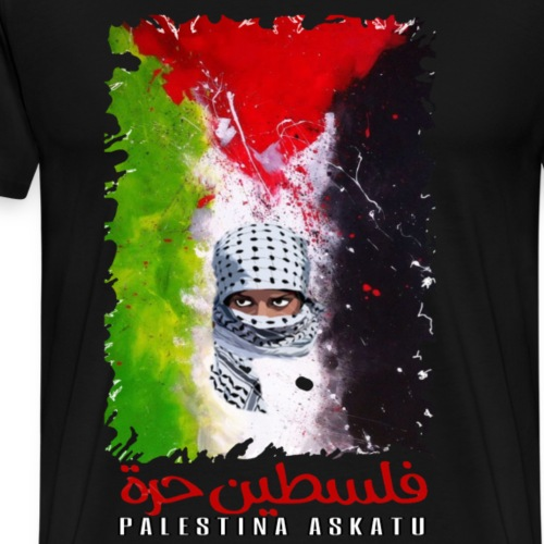 Freedom for Palestine / Palestina askatu - Camiseta premium hombre