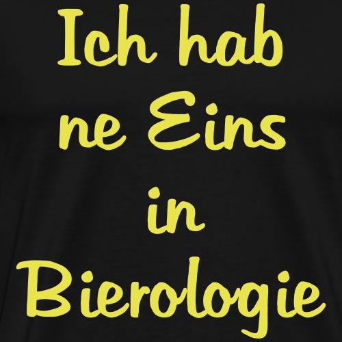 Bierologie - Männer Premium T-Shirt