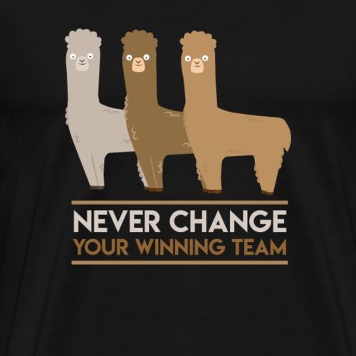 Alpaca Winning Team - Männer Premium T-Shirt
